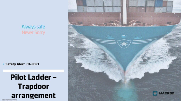 Maersk guidance on trapdoor arrangements
