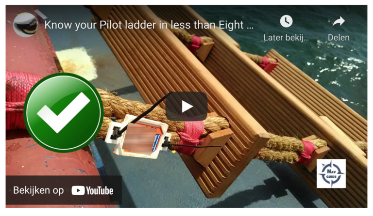Know your pilot ladder in less than eight minutes