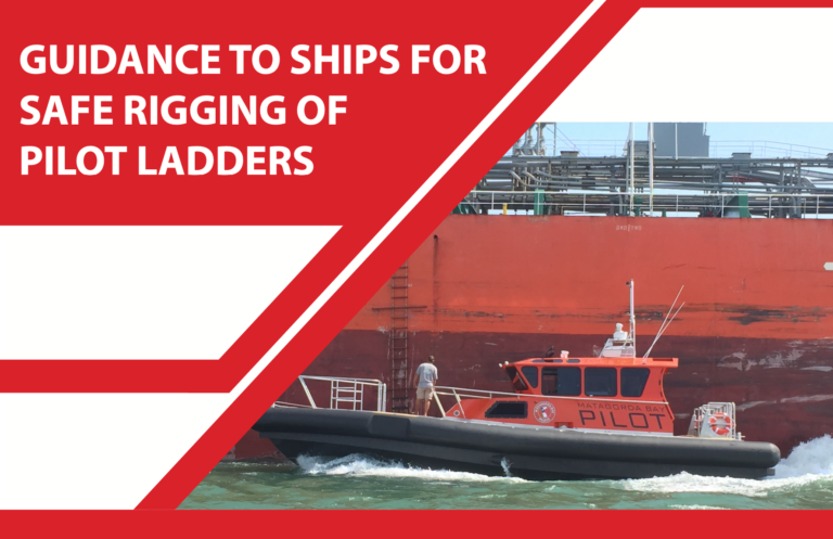 """AIMPA issues """"Guidance to ships for safe rigging of Pilot Ladders"""""""