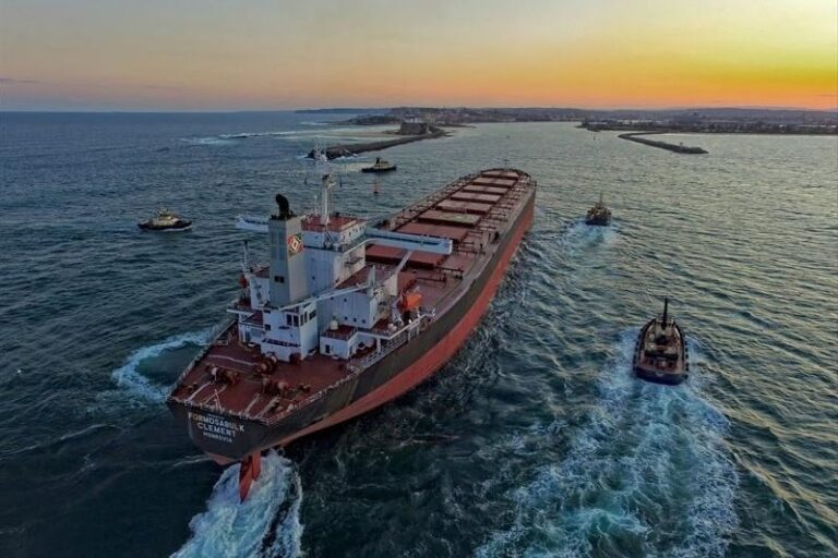 Chinese sailor crushed to death during open sea ship transfer