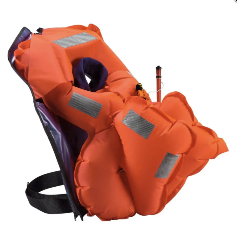 Backpack or not? It's all about the lifejacket.